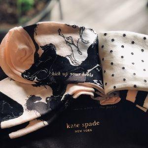 KATE SPADE set of 3 Pair socks-NWT